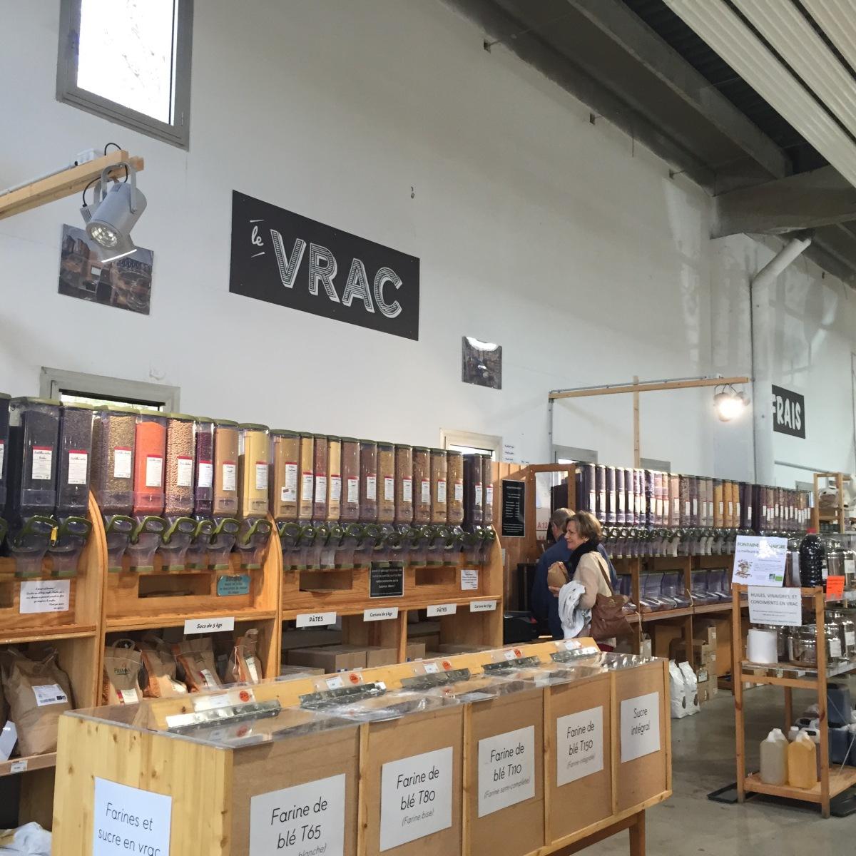 Commerces bio et locaux : La Super Halle près de Lyon