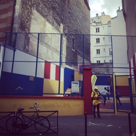 Playground Duperré, 22 rue Duperré 75009.