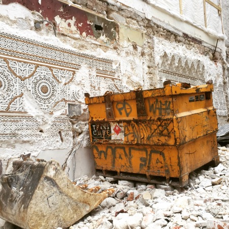 chantier de destruction - Paris (c) Ea Marzarte Small & Beautiful